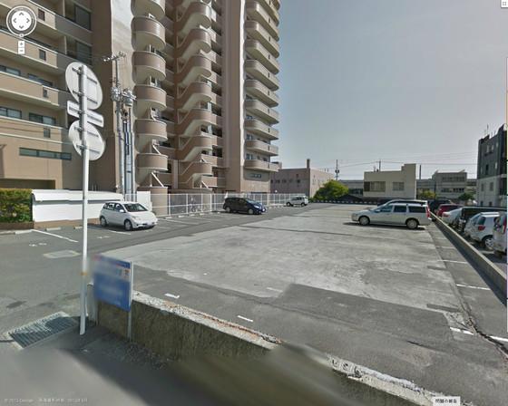 松保町基山海運駐車場